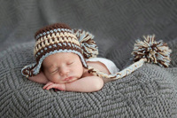 Free shipping 2 style boy hat,handmade crochet newborn baby boy stripe hat,hat with earflaps  for photo props,baby boy hat
