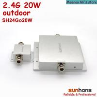 New! 2.4G high power 20w outdoor Sunhans wifi signal booster/amplifier