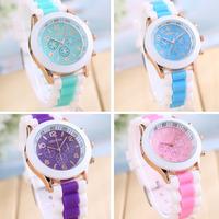 2014 New Arrival 1PC Unisex Fashion Silicone Quartz Men Women Jelly Wrist Casual Sports Watch Free Shipping&Wholesale