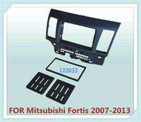 2 Din carro fascia / Car Fascia Panel / Audio Panel Frame / Dash Kit For Mitsubishi Fortis 2007-2013 Free Shipping
