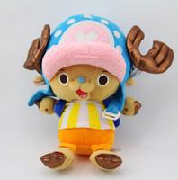 "High Quality Kids Toys Kawaii Chopper Japanese Hot Anime One Piece 30cm 12"" Tony Tony Chopper  Plush Toy Brinquedos Good Cotton"