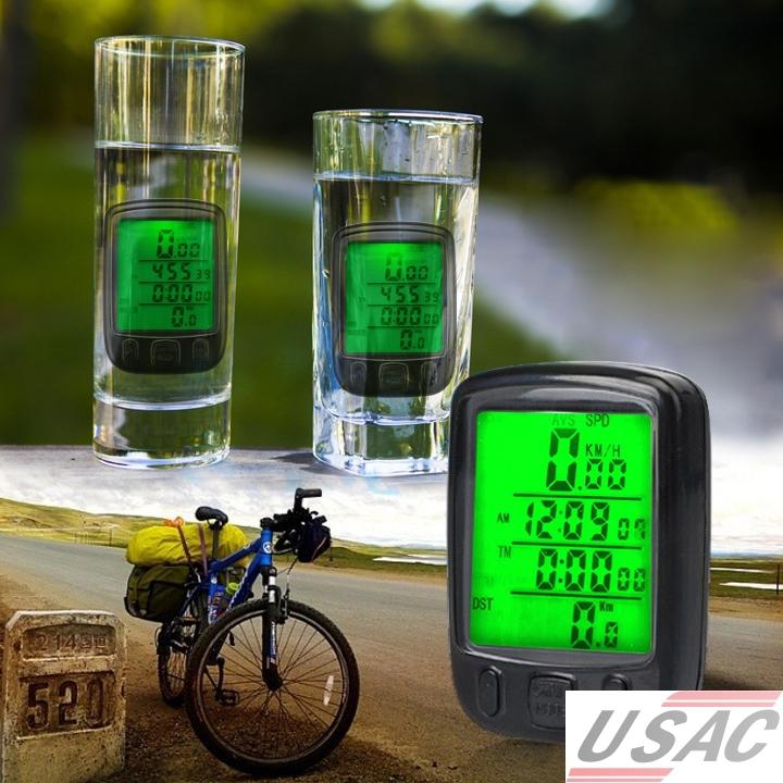 Датчик скорости для велосипеда Brand New LED S3378 Bicycle computer