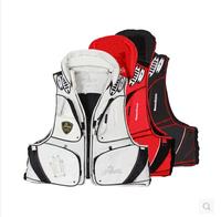 Best Quality Bluefish vest 100% polyamides life jacket fishing vest life vest whistle size M F XXXL free shipping