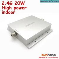 New! 2.4G high power 20w indoor Sunhans wifi signal booster/amplifier