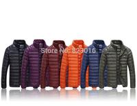 Ultra lightweigh  men down jacket   male winter jacket men winter coat jaqueta de masculina Size M-XXXL