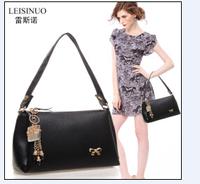 """2014 new fashionable female bag handbag shoulder inclined shoulder bag High quality leather handbag """"women messenger bags"""