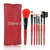 Girl Traval Necessities Brand Makeup Set Portable 7pcs 7 pcs Makeup Brushes Sets & Kits Brushes & Tools Cosmetics Brush with bag