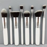 Free shipping 8PCS Makeup Brushes Cosmetics Foundation Blending Makeup Brush Kit Set Wooden Makeup tool