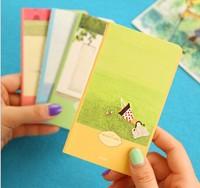 2014 new Free ship 1lot=20pcs/korean stationery kawaii Lovely girl mini notebook /diary / Notepad  school supplies