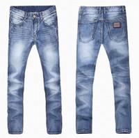 2014 men jeans fashion brand straight designer denim jeans for men casual pants