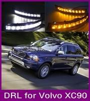 LED VOLVO XC90 Daytime Running/Driving Light for VOLVO XC90 06'-14 DRL, daytime driving light with yellow turn signal function