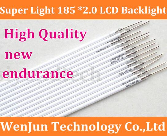 HK POST Free Shipping 185MM length LCD CCFL lamp backlight , CCFL backlight tube,185MM*2.0mm, 185MM length CCFL light(China (Mainland))