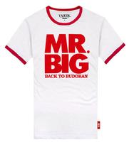 Shake MR. BIG cotton lovers rock t-shirt men's and women's T-shirt