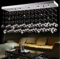 Modern LED Chandelier Crystal Ceiling Lamp Restaurant Lighting Lustres Home Decoration Free shipping PL418