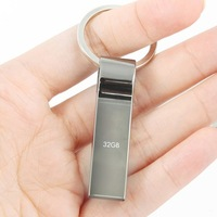 Usb Flash Drive New Hot Sell 8GB 16GB 32GB 64GB 2.0 Metal Pen Drive Usb Stick Pendrives with Key Ring