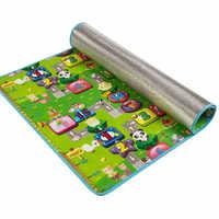 Baby play puzzle 180 * 120 * 0.3 Crawling Moisture pad picnic mat baby learning toy tapete para bebe brinquedos bebe