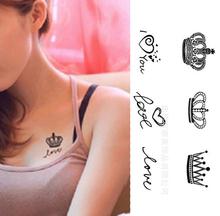 Hot Sale Novo Design de Moda Glitter Tattoo etiqueta impermeável Pintura Tatuagem Temporária Body Art Drop Shipping HB- 001903(China (Mainland))