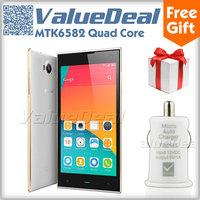 Original Umi C1 MTK6582 Quad Core Cell Phones Android 4.4 3G Smartphone 5.5'' HD IPS 1GB RAM 16GB ROM WCDMA 13MP Camera New 2014