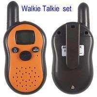 New Generation radio Portable Mini Walkie Talkie Pair Set Wireless 2-Way Intercom 1km Range Dropship