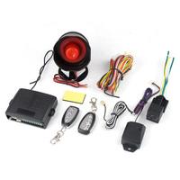 1-Way Upgrade Auto Window Closer Vehicle Burglar Protection Car Alarm Security System 2 Remote Control