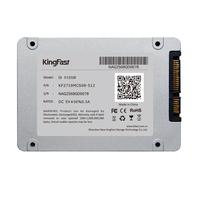"KingFast  2.5"" SATA3 512GB SSD Read 550MB/s Write 340MB/s SMI2246EN Controller MCL Flash F8M Serial 512GB Solid State Driver"