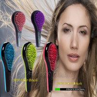 Free Shipping Detangle Hair Brush M Mercier Comb Teezer Hair brush Anti-Static TT Comb 4color As Seen TV Products Pink HB-04