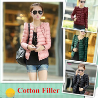 Slim Winter Coat Woman Princess Style Down Jacket Lovely Winter Parka Pure Cotton Female Jacket Warm and Comfortable YFZ1