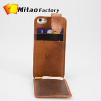 Italy Vegetable Leather Wallet Stand Case for iPhone 5 5c 5c, phone bag purse for iPhone 5 with Card Holder Simple design case