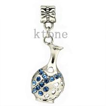 1 Piece ,2014 New Arrival 925 Silver Bead,Bottle Aquarius Pendants Fit Pandora Charms Bracelets,necklaces & pendants,SPP031