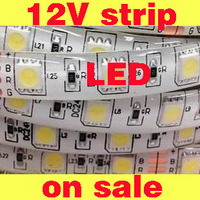 12V strip  flexible high lumen low voltage  warm white, cool white, green, blue red and RGB 5050SMD 300PCS