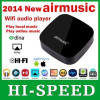 Airplay DLNA(DMR) Music Radio Receiver iOS & Android Airmusic Air music WIFI Audio Receiver FLAC APE Free Shipping 1pcs