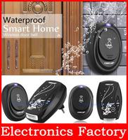 Eu Plug Led 100m Range Remote Control Digital Waterproof 220v Ac Wireless Doorbell Door Bell 36 Cord Music Tunes Melody Home