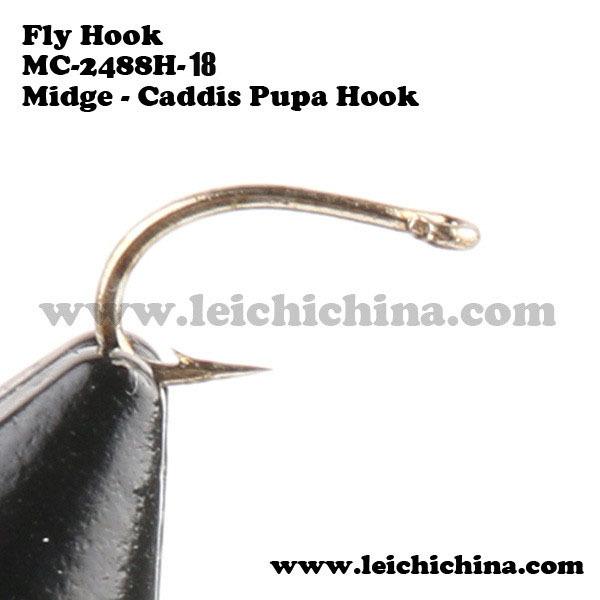 Крючок для рыбалки Maxcatch 18, 500 18#  MC-2488H 18#