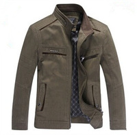 Spring 2014 new brand men's jackets men's middle-aged men washed cotton jacket jacket free shipping