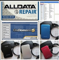 NEWEST 2014 Arrival Software ALLDATA 10.53 + Mitchell on demand + Mitchell manager plus 5.9 in 750GB HDD Free shipping