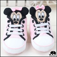 2014 New High Quality Cartoon Baby Boy Girl Infant Toddler Brand Shoes Footwear Spring Autumn Winter First Walking Sneaker