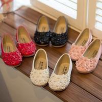 Casual Children Round Toe Ballet Ballerina Dance Shoes Brand Solid Girls Princess Flats New 2014 Kids Summer Sandals KP108