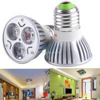 2014 new arrivel 3W DC/AC 85~265V Power Supply MR16 Focus Warm White LED Bulb Spot Light Energy Saving B19 SV000234