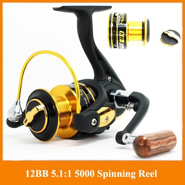 German technology 12bb 3000 4000 series spinning fishing reel big discount Fishing Reels hot sale for feeder fishing(China (Mainland))