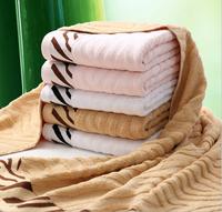 Home textile ! New 100% Bamboo fiber  towel, tiger skin grain bamboo fiber towel,70*140CM,,420g
