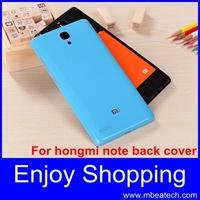 1 pcs drop shipping Fashion Protective original xiaomi hongmi note back cover xiaomi rice note battery cover