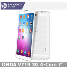 Onda V719 Dual / Quad Core 3G 7 inch IPS screen Tablet pc MTK8382 Cortex A71.2GHz Android 4.2 Dual camera GPS Phone Call(China (Mainland))