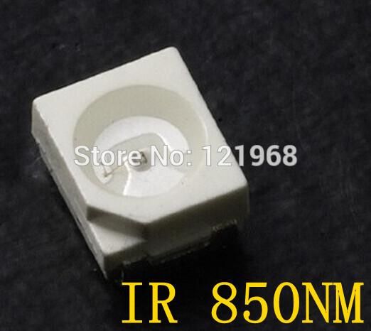 High quality 850nm IR SMD LED diode 3528 Infrared led 1.4-1.5V CCTV light diode(Free shipping)(China (Mainland))