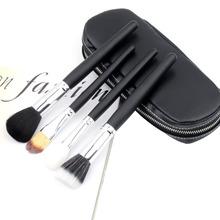 1Set 12 in 1 Professional Cosmetic Brush Makeup Set Kits Make Up Tool with Black Bag