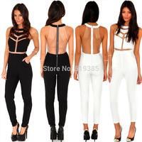 2014 l sexy, Europe and the United States sell like hot cakes white gauze bandage dress nightclub pants