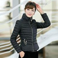 L XL XXL XXXL New 2014 Women Winter Outerwear Slim Wadded Jacket Small Cotton-padded Jacket Down Short Design Parkas Top Quality
