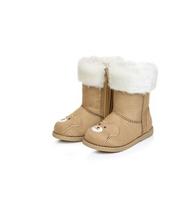 20141011 winter children snow boots,Children's  boots cute Winnie the help warm footwear 5pair/lot  free shipping