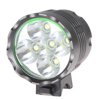 High Power Securitylng 6000LM 5 x CREE XML T6 LED Bicycle Light Headlamp