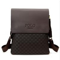 Zipper 2014 New Leather Men's handbags Messenger Briefcase Bags Men Shoulder Bag Laptop Bag (NSB-002)