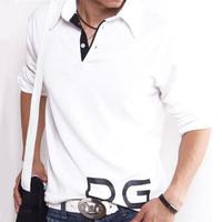 2014 shirt for men fashion brand long sleeve t shirt men casual shirt eden park printed tourism plus size sports t shirts